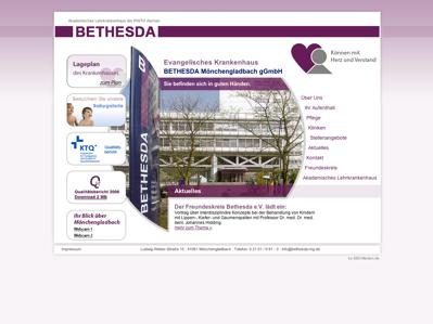 Ev. Krankenhaus BETHESDA Mönchengladbach gGmbH ...  Bethesda