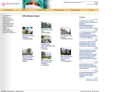 drk kliniken berlin wiegmann klinik berlim alemanha. Black Bedroom Furniture Sets. Home Design Ideas