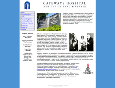 Gateways Hospital And Mental Health Center Los Angeles United States