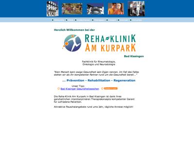 Rehaklinik Am Kurpark Bad Kissingen Bad Kissingen